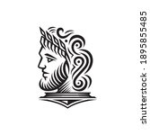 Ancient Greek Figure Face Head...