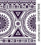 ethnic ornament. african origin ... | Shutterstock . vector #1895897848