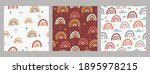 set of seamless patterns with...   Shutterstock .eps vector #1895978215