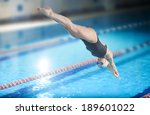 Portrait Of A Female Swimmer ...