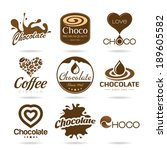 Chocolate And Coffee Icon...