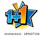 the view of number  | Shutterstock .eps vector #189607136