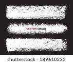 Chalk Texture Stripes. Vector...