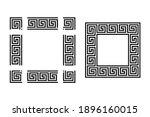 template for seamless meander...   Shutterstock .eps vector #1896160015