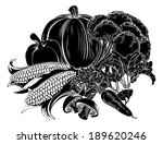 an illustration of a vegetables ... | Shutterstock . vector #189620246