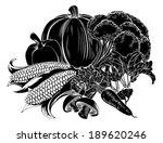an illustration of a vegetables ...   Shutterstock . vector #189620246