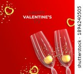 Happy Valentine's Day Card. Top ...