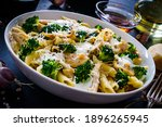 Penne With Roast Chicken Meat ...