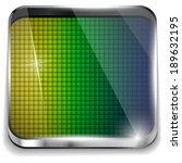 vector   brazil flag square... | Shutterstock .eps vector #189632195