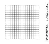 oculist amsler eye test grid....   Shutterstock .eps vector #1896332152