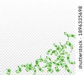 american dollar notes falling....   Shutterstock .eps vector #1896335698