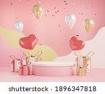 3d rendering of minimal scene... | Shutterstock . vector #1896347818