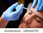 man having botox treatment at... | Shutterstock . vector #189644792
