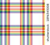 Rainbow Plaid  Checkered ...