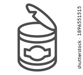 canned food line icon  picnic...   Shutterstock .eps vector #1896551515