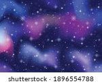 abstract galaxy. cosmos space... | Shutterstock .eps vector #1896554788
