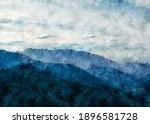 Acrylic Digital Painting Of...