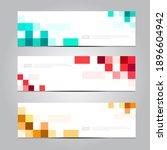 vector abstract design... | Shutterstock .eps vector #1896604942