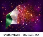 ireland  vector 3d flag on pink ...   Shutterstock .eps vector #1896638455