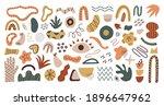 vector set of abstract... | Shutterstock .eps vector #1896647962