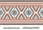 geometric ethnic pattern... | Shutterstock .eps vector #1896660985