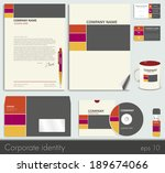 business style  corporate... | Shutterstock .eps vector #189674066