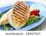 ������, ������: Grilled chicken breasts on