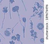 vector seamless pattern of...   Shutterstock .eps vector #189676496