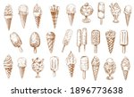 ice cream sketch icons ... | Shutterstock .eps vector #1896773638