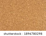 Small photo of Cork board background texture - insert your own message or bulletin with thumbtacks. Top view.