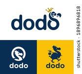 dodo bird logo icon concepts....   Shutterstock .eps vector #1896896818