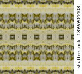 Yellow Ethnic Print. Yellow...