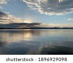 Sunrise Over Yellowstone Lake...