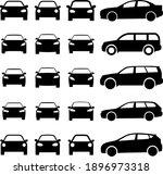 car set icon  logo isolated on...