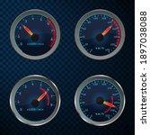 car speedometer set of...   Shutterstock .eps vector #1897038088