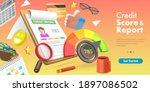 3d vector conceptual... | Shutterstock .eps vector #1897086502