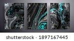 abstract liquid placard  fluid...   Shutterstock .eps vector #1897167445
