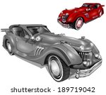 retro cars | Shutterstock .eps vector #189719042
