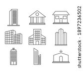 business buildings and city...   Shutterstock .eps vector #1897236502