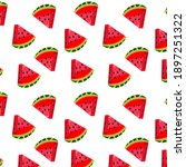 Pattern Watermelon Food...
