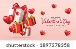 valentine's day sale background....   Shutterstock .eps vector #1897278358