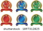 graphic icon set of colorful... | Shutterstock .eps vector #1897312825
