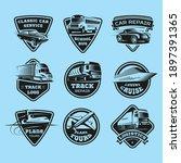 transport modes monochrome...   Shutterstock .eps vector #1897391365