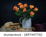 Still Life With A Bouquet Of...