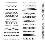 a set of various highlighter...   Shutterstock .eps vector #1897481302