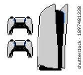 next generation video game... | Shutterstock .eps vector #1897481338