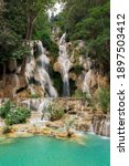 Tat Kuang Si Waterfalls At...