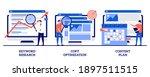 keyword research  copy... | Shutterstock .eps vector #1897511515
