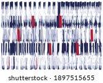ikat geometric folklore... | Shutterstock .eps vector #1897515655