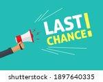 megaphone promotion advertising ... | Shutterstock . vector #1897640335
